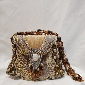 Vintage ornate beaded purse by Mary Frances